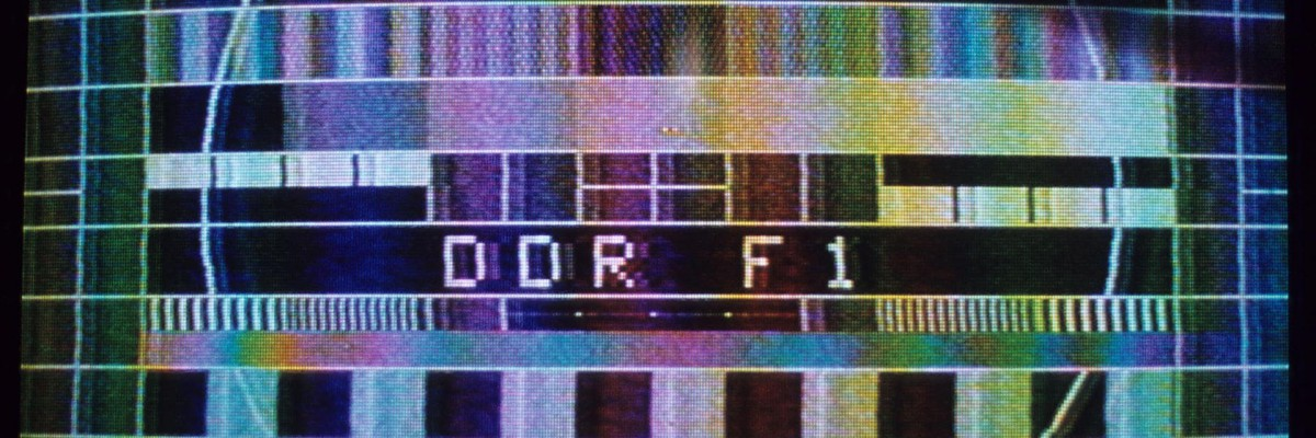 Testbild des ehemaligen DDR-Senders F1